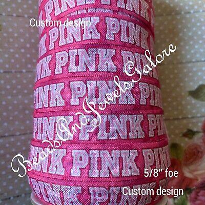 Girly foe girly elastic fashion hair ties pink foe vs inspired love pink ribbon
