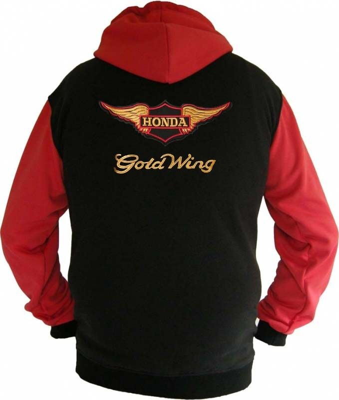 Honda Goldwing Racing Fan Sweatshirt Kapuzenjacke Hoodie Lieferz. ca. 8 Tage