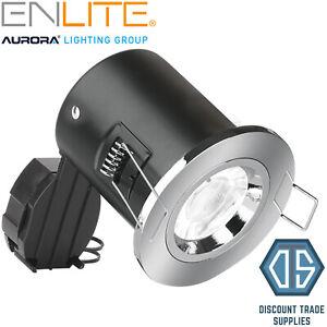 Aurora Enlite IP65 Bathroom Fire Rated EN-FD103PC Polished ...