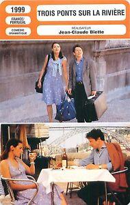 FICHE-CINEMA-FILM-FRANCE-PORTUGAL-TROIS-PONTS-SUR-LA-RIVIERE-Jean-Claude-Biette