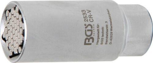 9-21 mm universal nuez 3//8 Bgs multi-uso de 10