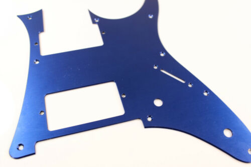 Blue  Anodized Aluminum pickguard fits Ibanez tm RG550 Jem RG HXH HH