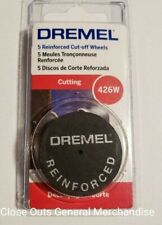 NEW Dremel Bulk 20 Piece Pack Reinforced Cut-Off Wheels Metal Wood Plastic 426B
