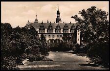 OELS i. Schlesien Oleśnica - Kronprinzl. SCHLOSS - sw AK ca. 1938