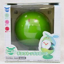 Gundam Mascot Robot Haro Figure Desktop Clock Green Ver. JAPAN ANIME MANGA