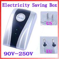 NEW AC 90~250V US EU Plug Power Saving Electricity Energy Saver Box