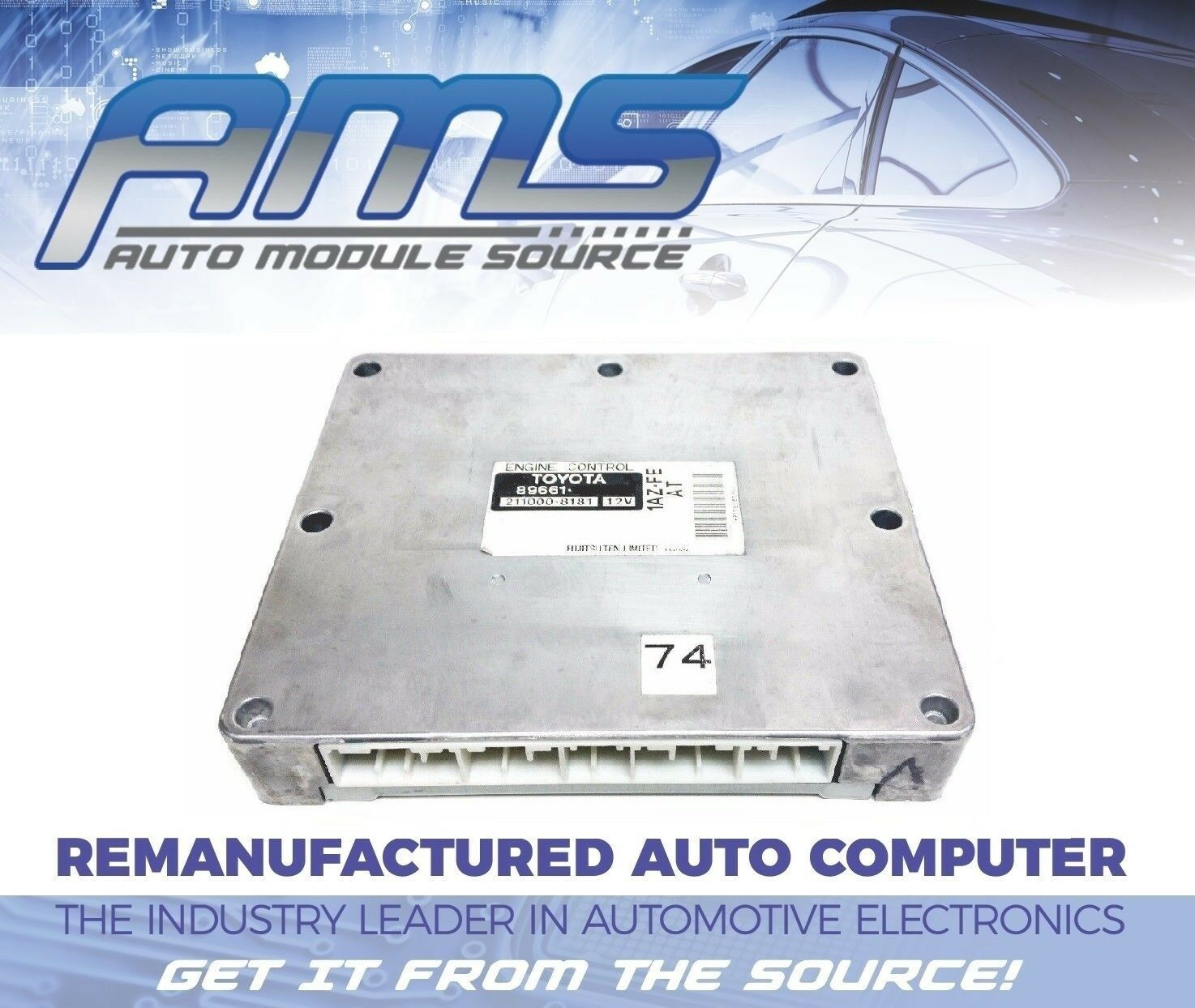 2001 2002 Toyota Rav4 Engine Computer Module Ecm Ecu Unit P 89661 1az Wire Diagram 2003 Norton Secured Powered By Verisign