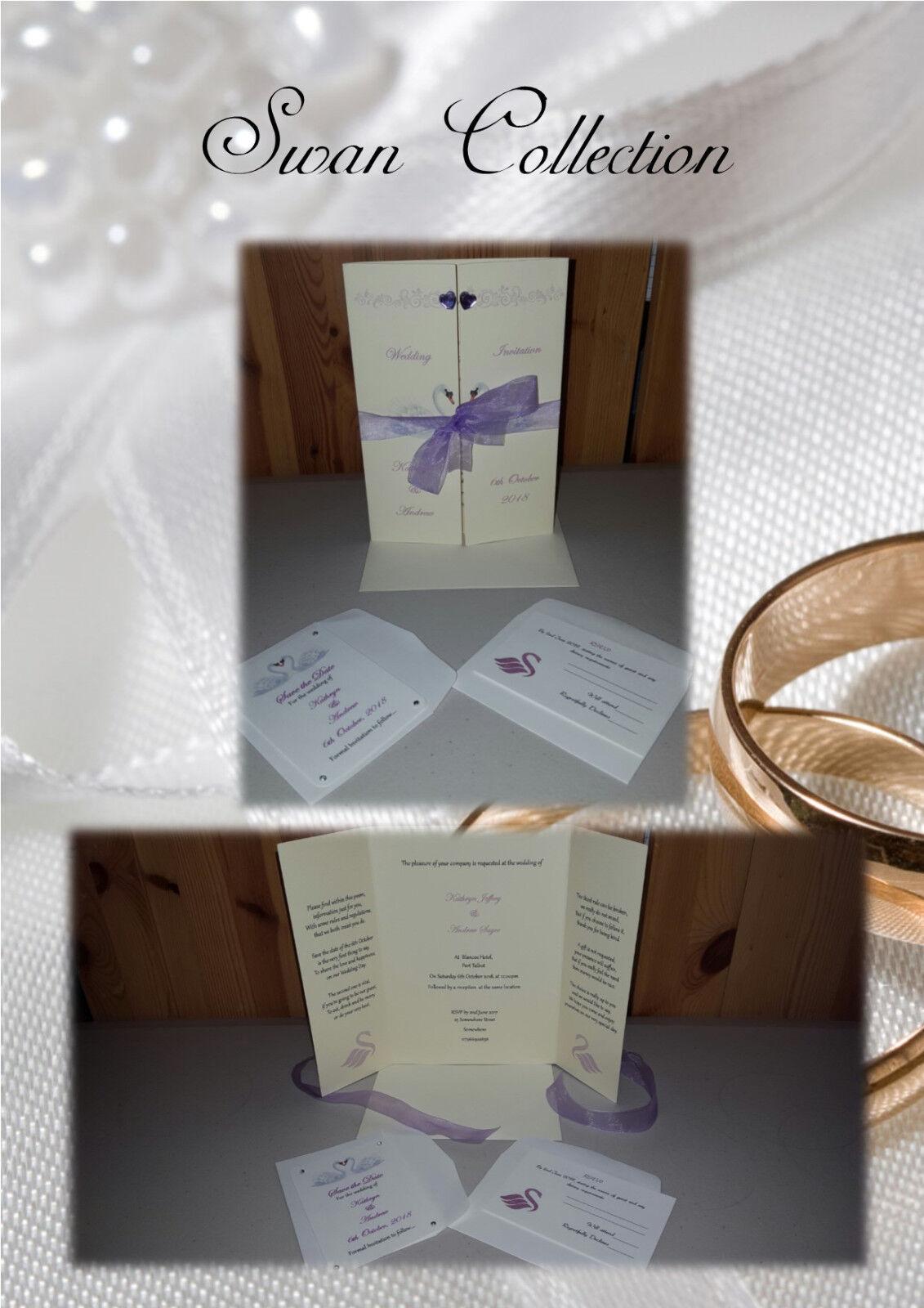 Personnalisé Mariage/Fiançailles invitations gate fold Design Design fold (divers modèles) ea76d6