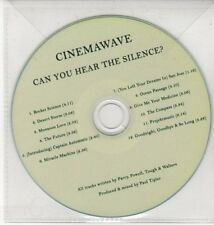 (DN330) Cinemawave, Can You Hear The Silence? - DJ CD