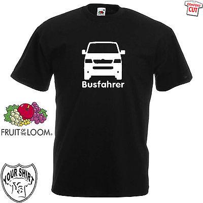 2019 Mode Busfahrer T5 T-shirt S-5xl Kult Bulli T1 T2 T3 T4 T5