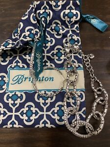 Brighton-Pebble-Pave-Bracelet-And-Earrings