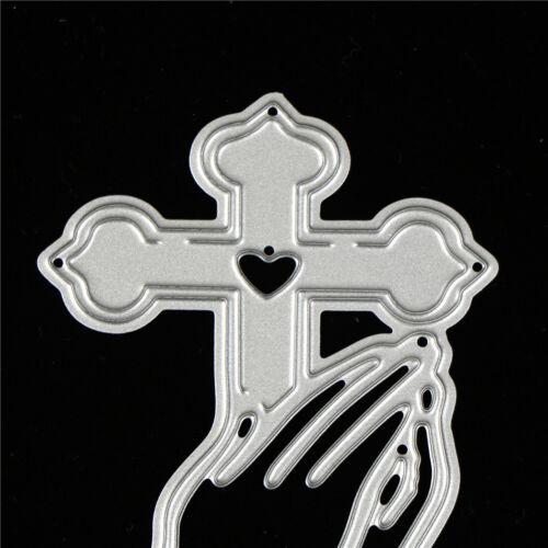Cross Design Metal Cutting Dies For DIY Scrapbooking Album Paper YEZY