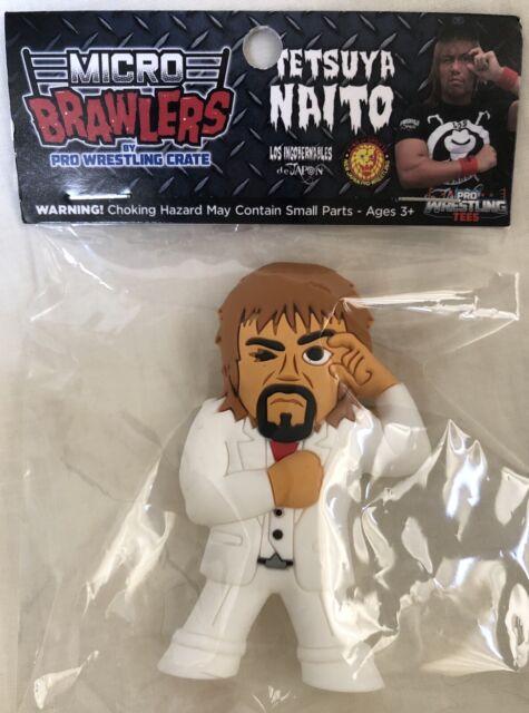 TETSUYA NAITO Micro Brawlers Pro Wrestling Crate Variant Figure NJPW LIJ ROH
