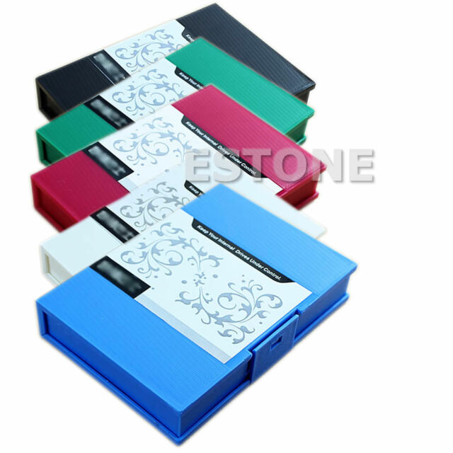 """1PC Anti-Shock Protection Storage Box Case for 3.5""""SATA IDE Hard Disk Drive HDD"""