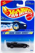 Hot Wheels No. 297 Dark Rider Series #1 Splittin' Image II 7 Spokes New 1995