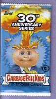 2015 Garbage Pail Kids 30th Anniversary Series Sticker Hobby Pack