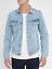 Nudie-senores-Denim-Jeans-chaqueta-Billy-strumming-Indigo-slim-fit-talla-s miniatura 1