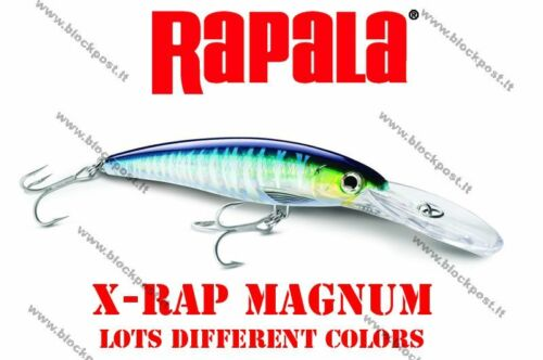 22 g Rapala X-Rap Magnum  XRMAG10 Different colors 11 cm