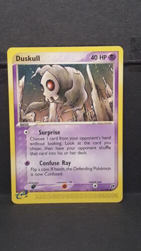 Duskull 61 Sandstorm Common Pokemon Card Near Mint