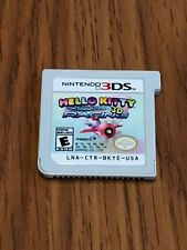 41a6cc995 Hello Kitty and Sanrio Friends 3D Racing (Nintendo 3DS, 2014) Cart Only!