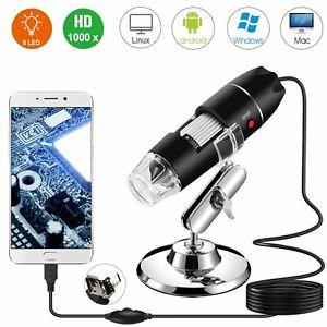40X-1000X-8-DEL-Digital-Microscope-Camera-Handheld-USB-Grossissement-Endoscope