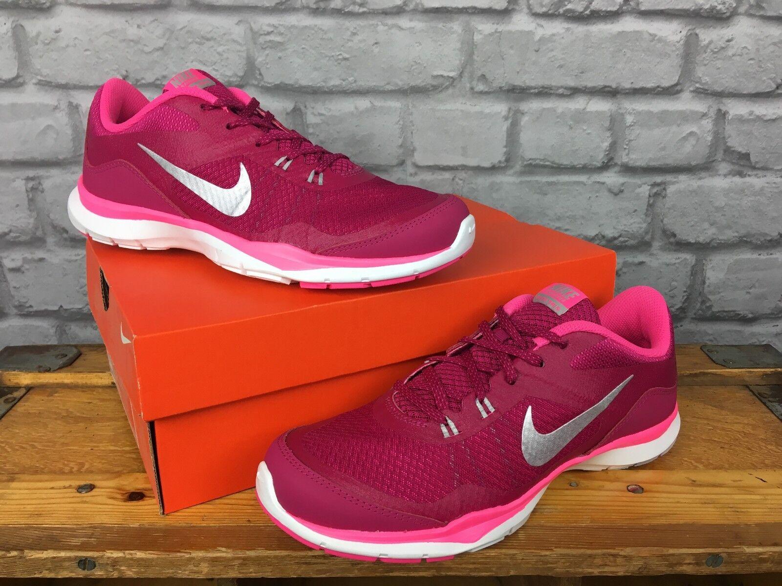 Nike 38.5 Femmes UK 5 EU 38.5 Nike Hot Vives Rose Flex TR 5 Baskets 63d2f3