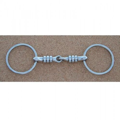 Loose Ring Cherry Roller Snaffle All Sizes Bits N Bridles