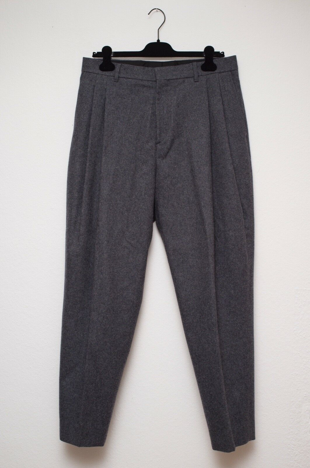Acne Studios Piano Flannel grau melange trouser Größe 50 like new