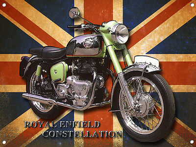ROYAL ENFIELD CONSTELLATION METAL SIGN