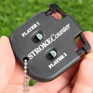 Golf-Shot-Count-Stroke-Putt-Score-Zaehler-zweistellig-Scoring-Keeper-mit-Kette