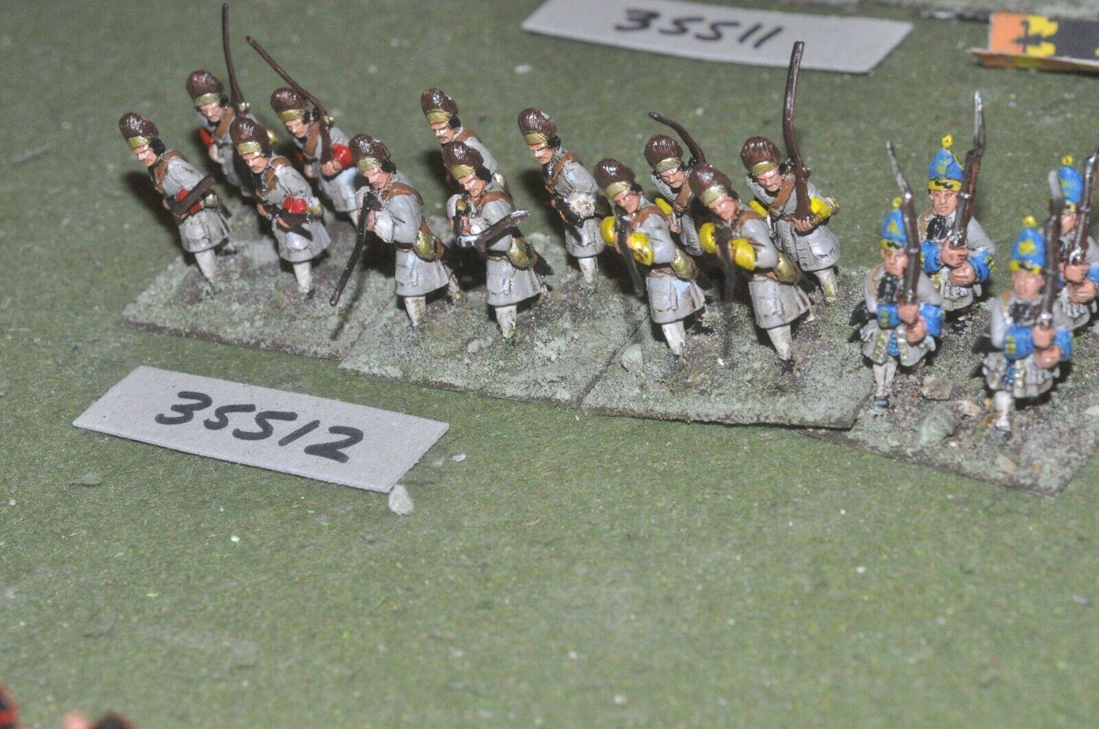 25mm marlburian   austrian - regiment 16 figures - inf (35512)
