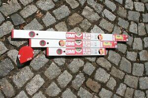 3er-SET-BMI-Wasserwaagen-80-60-amp-40-cm-BMI-Meter-8-m-Bandmass