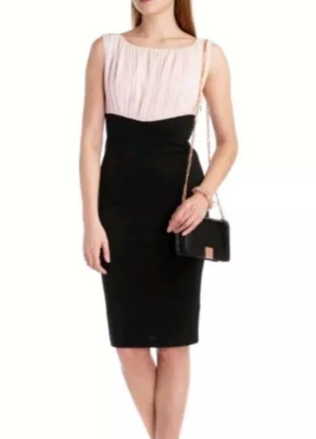Ted Baker Rowe Gatherot Top dress Ted 0 US 2