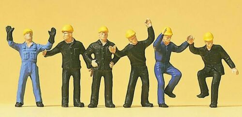 rangierer 14105 : trabajador ferroviario Figuras preiser h0