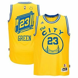 reputable site 13df8 35b88 Details about NBA Men's Golden State Warriors Draymond Green Hardwood  Classic Swingman Jersey