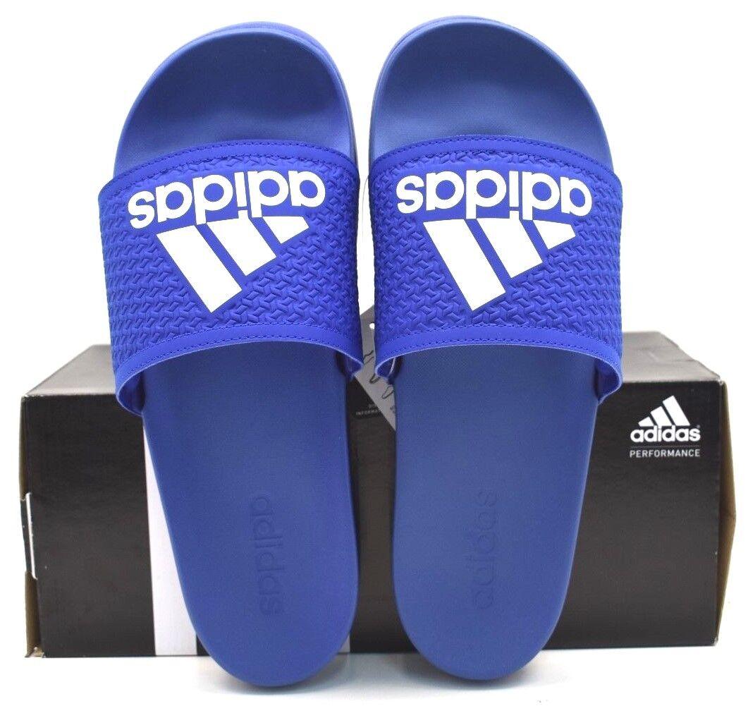 18c24998dff4 Adidas Adilette CF Ultra C AQ3113 Blue Blue Blue White US Size 10 FREE  SHIPPING BRAND NEW eeb190