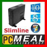 Amd Dual Core A6 7400k Sff Computer 4gb 500g R5 Slim Desktop Office Home Pc Htpc