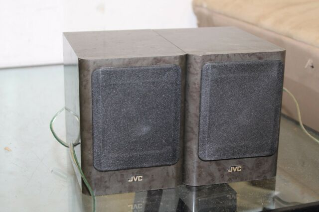 High End Speakers For Sale Ebay >> Pair Of Jvc Sp Ux1000gr High End Micro System Speakers Marble Gray 20w 4ohm