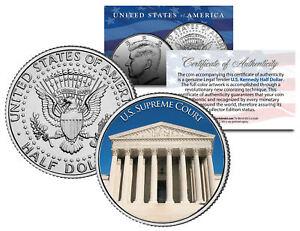 UNITED-STATES-SUPREME-COURT-Washington-D-C-JFK-Kennedy-Half-Dollar-U-S-Coin