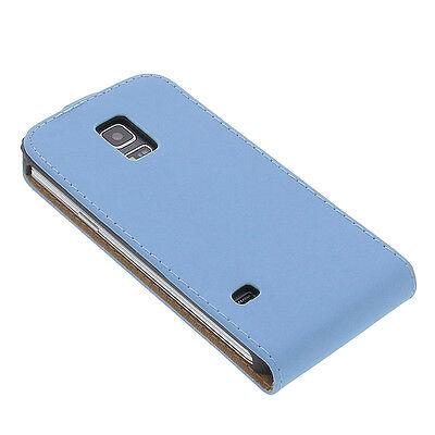 Tasche für Samsung Galaxy S5 Mini Flip Case Handy Hülle Etui Schutz Geschenkidee