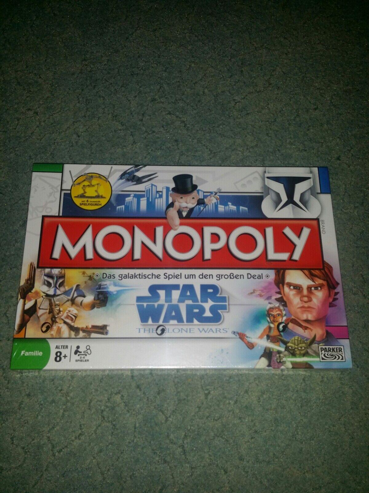 MONOPOLY Star Wars The Clone Clone Clone Wars a97838