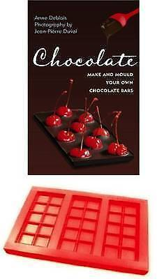 """""""AS NEW"""" Chocolate - Make and Mould Your Own Chocolate Bars, Jean-Pierre Duval,"""