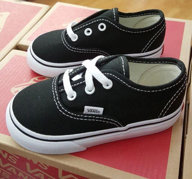 Infant Toddler VANS Authentic Black