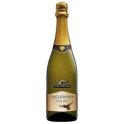 Wolf Blass Eaglehawk Cuvee Brut bottle Chardonnay Sparkling White Wine 750mL