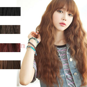 Classic-Fashion-Womens-Lady-Long-Curly-Wavy-Hair-Full-Wigs-Cosplay-Party-5Colors