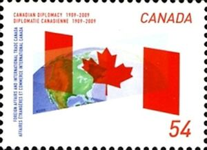Canada-2331-CANADIAN-DIPLOMACY-New-2009-Fresh-Pristine-Gum
