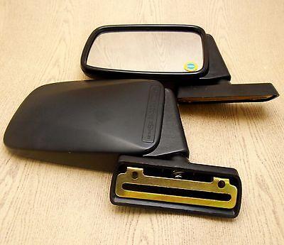 RH New Opel Irmscher Manta i240 C in 1984 Pair Bullet Black Door Mirror LH