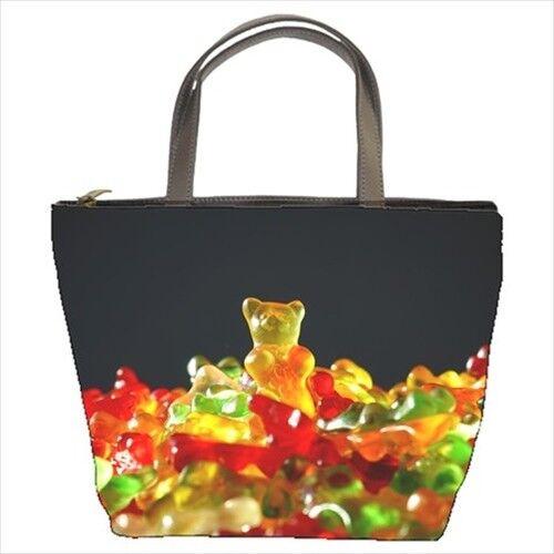 Gummy Bears Candy Bucket Bag