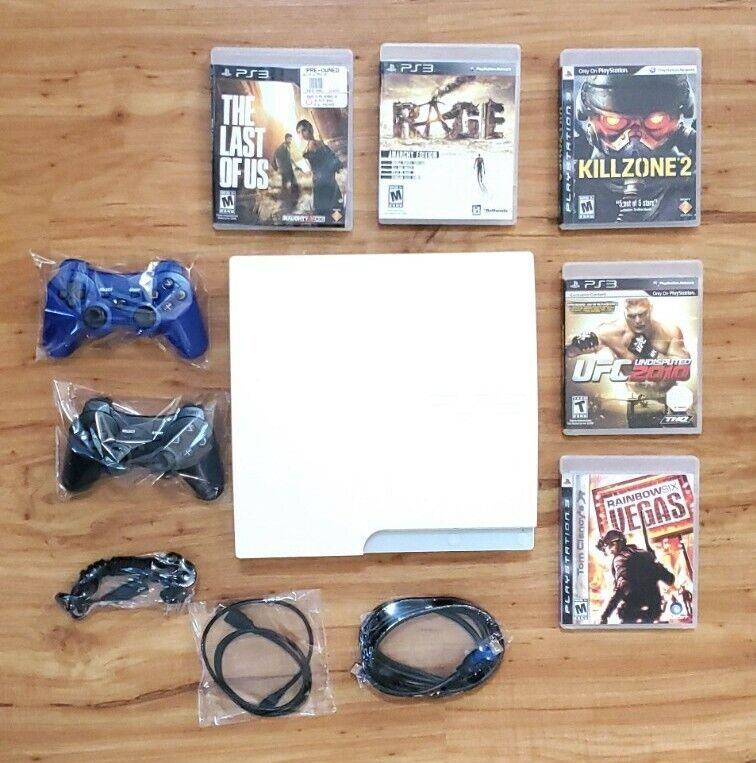 JAPAN Exclusive PS3 White Console CECH-3005B Playstation Complete - US Seller