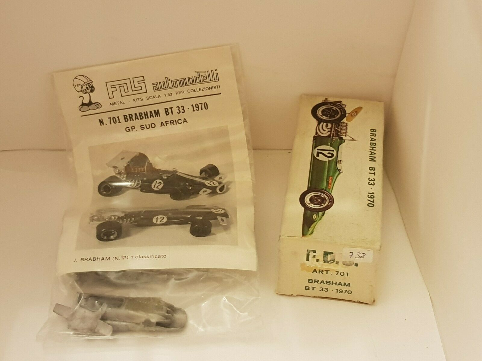 Kit FDS 143 n° 701   Brabham BT33 1970